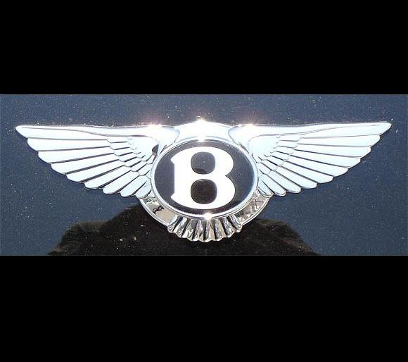 Le sigle bentley logo BENTLEY  , emblème de bentley en france