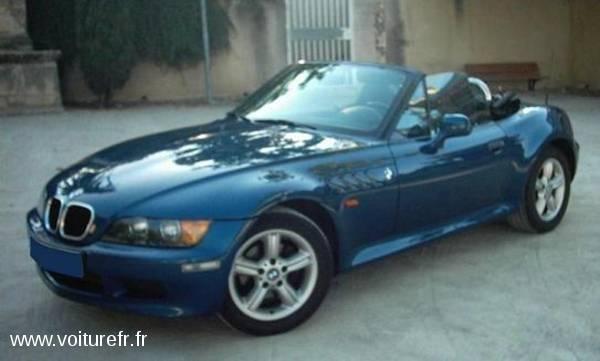 BMW Z3 Bleu 2000