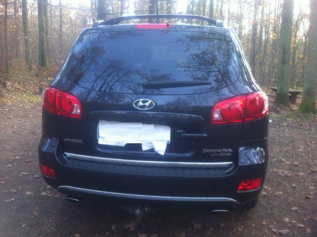 Hyundai Santa Fe occasion Noir - 20339