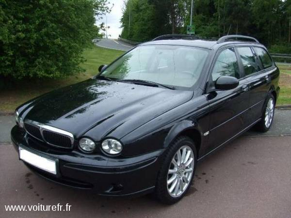 Jaguar Type X occasion Noir - 18698
