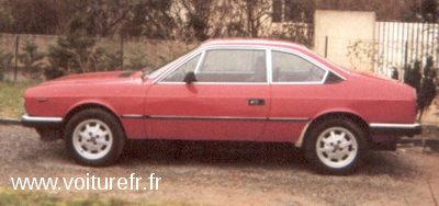 LANCIA Beta occasion Rouge - 16101