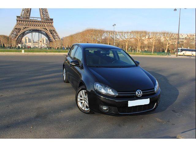 Volkswagen Golf 5 occasion Noir - 26878