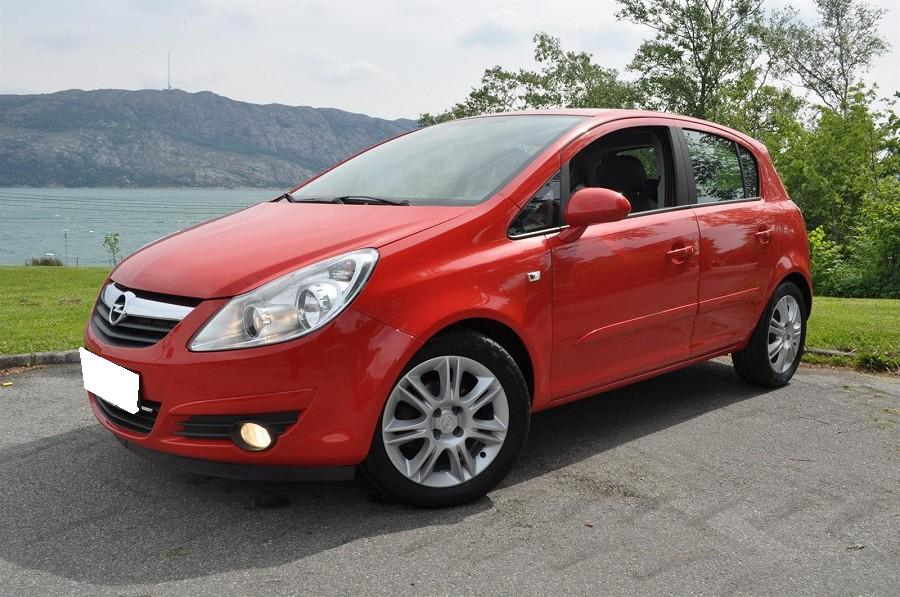 Opel Corsa occasion Rouge - 27553