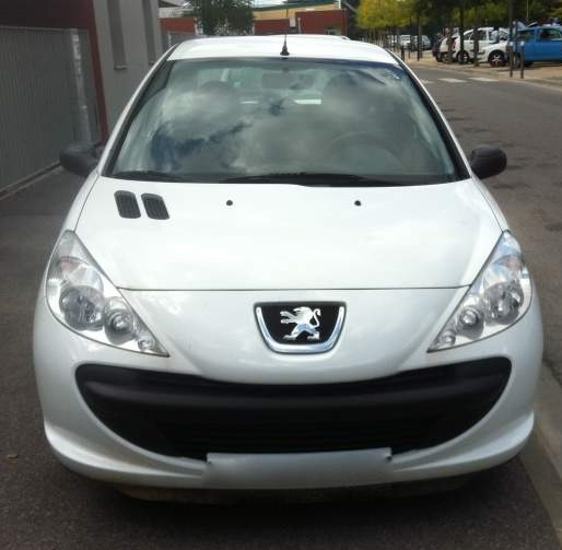Peugeot 206 occasion Blanche - 37703