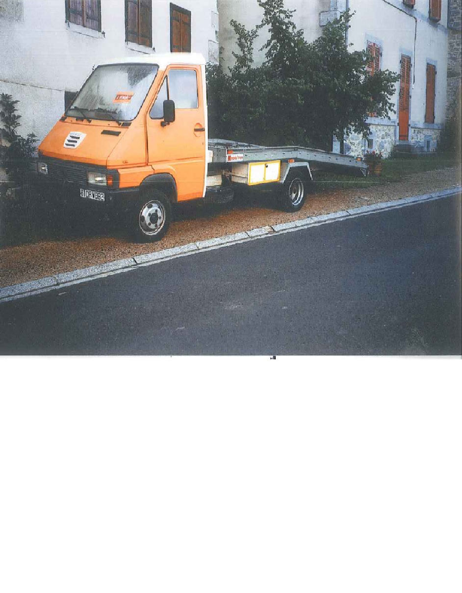 Renault B70 occasion Orange - 37555