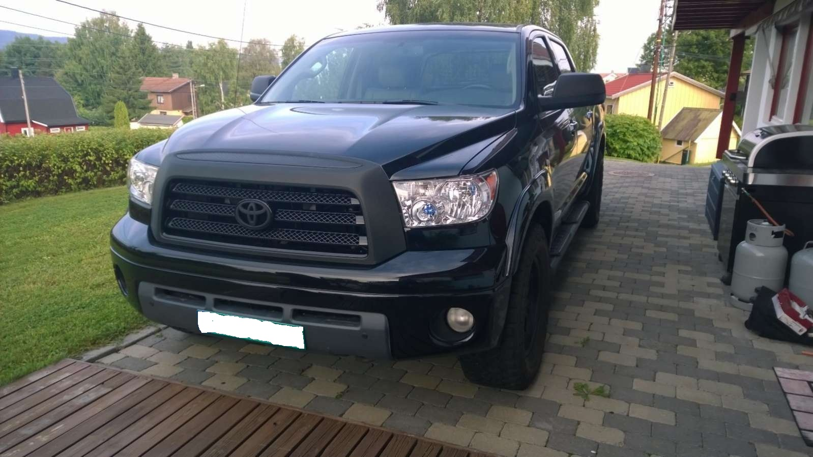 Toyota Tundra occasion Noir - 37917