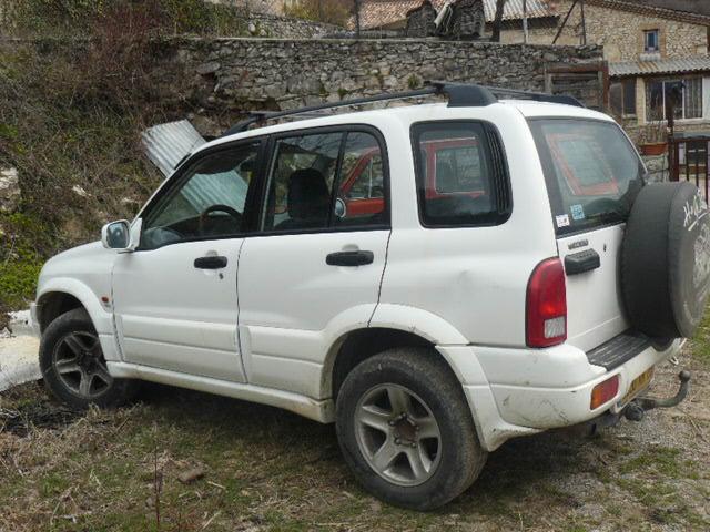 Suzuki Grand vitara occasion Blanche - 37541